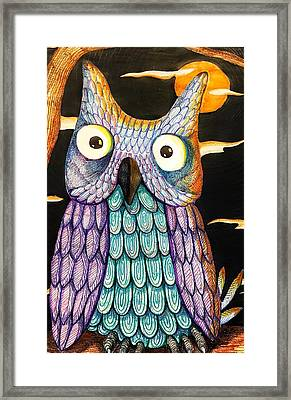 Whom? Framed Print by Jame Hayes