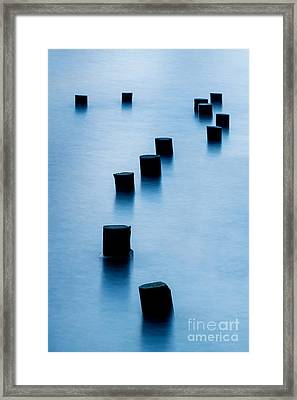 Why Framed Print by Az Jackson