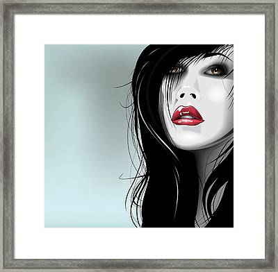 Why Framed Print by Brian Gibbs