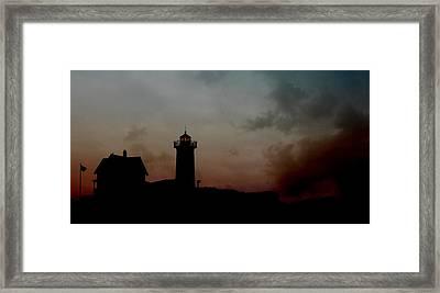 Wicked Dawn Framed Print by Lori Deiter
