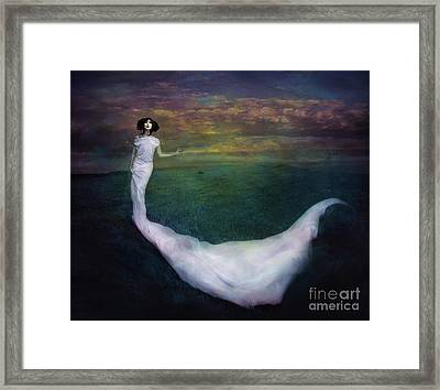 Wicked Game Framed Print by Spokenin RED