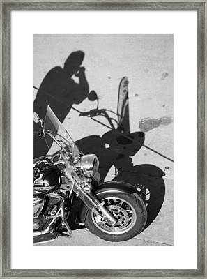 Wife Called  Framed Print by JC Photography and Art