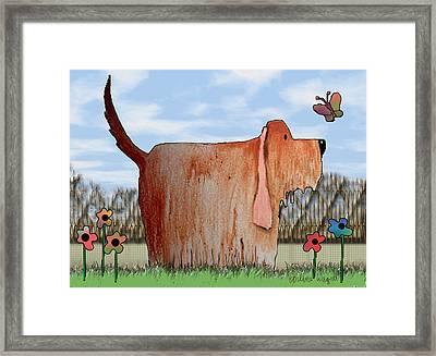 Wilbur Framed Print by Arline Wagner