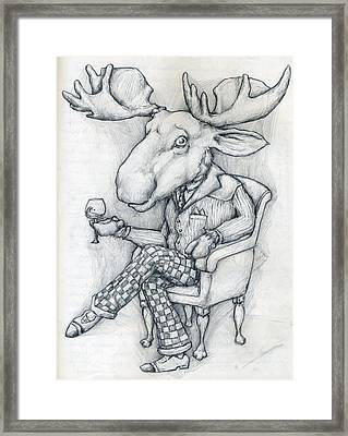 Wilcoxmoose Framed Print by Alexander M Petersen