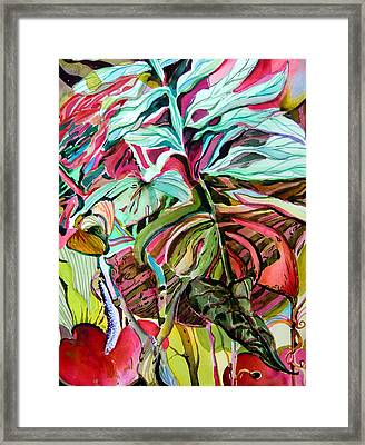 Wild And Grace Filled Framed Print by Mindy Newman