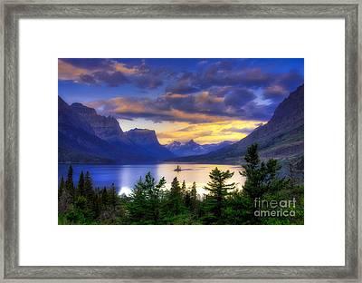 Wild Goose Island Framed Print by Mel Steinhauer