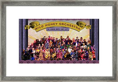 Wild Honey Orchestra Fundraiser Framed Print by Thomas Leparskas