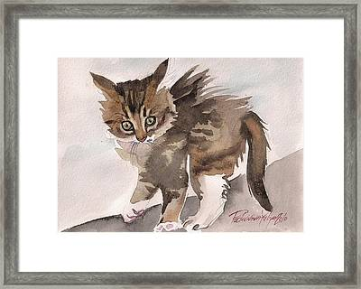 Wild Thing Framed Print by Yuliya Podlinnova