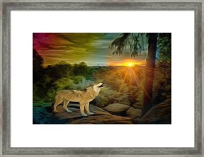 Wilderness Framed Print by Anthony Caruso