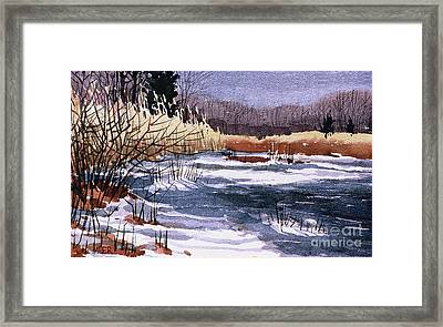 Wildlife Reserve Framed Print by Donald Maier