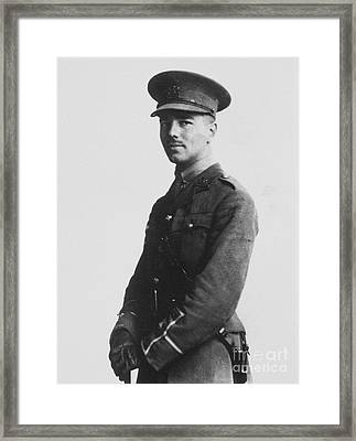 Wilfred Owen (1893-1918) Framed Print by Granger