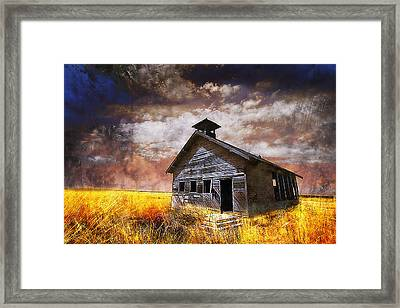 Will This Be The Way Of Education In The Us Framed Print by Jeff Burgess