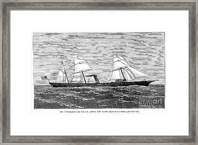 William Astor: Nourmahal Framed Print by Granger