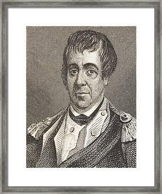 William Barton 1748 - 1831. American Framed Print by Vintage Design Pics