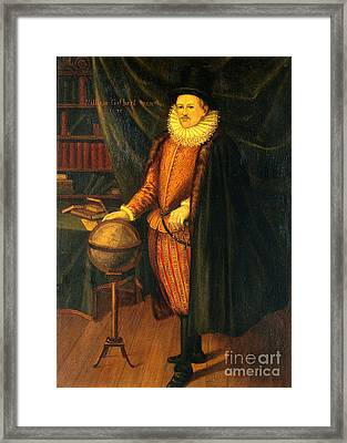 William Gilbert, English Physicist Framed Print by Wellcome Images