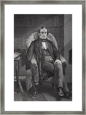 William Hickling Prescott 1796 To 1859 Framed Print by Vintage Design Pics