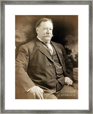 William Howard Taft, 42nd Secretary Framed Print by Science Source