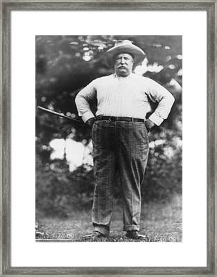 William Howard Taft Framed Print by Unknown