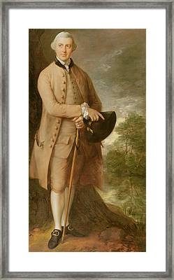 William Johnstone Pulteney Framed Print by Thomas Gainsborough