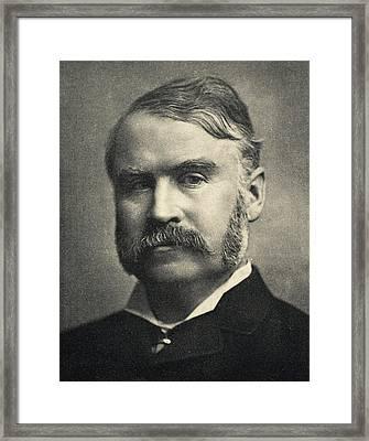 William Schwenck Gilbert,1836-1911 Framed Print by Vintage Design Pics