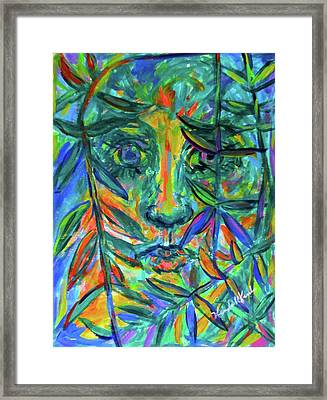 Willow Eye Stage One Framed Print by Kendall Kessler
