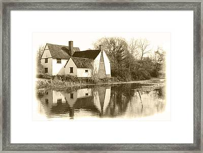 Willy Lots Cottage Framed Print by Terence Davis