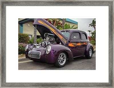Willys Sedan Framed Print by Bill Dutting