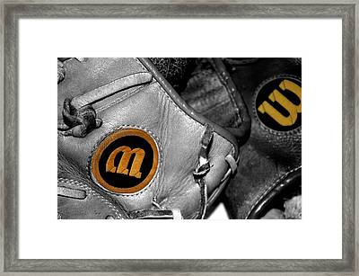Wilson 2 Framed Print by Jame Hayes