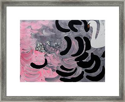 Wind And Sea Framed Print by Keshida Layone