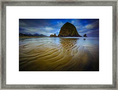 Wind And Water Framed Print by Rick Berk