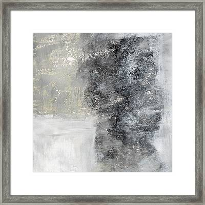 Wind In My Sails- Abstract Art Framed Print by Linda Woods