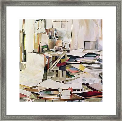 Wind Of Change Framed Print by Jeremy Annett