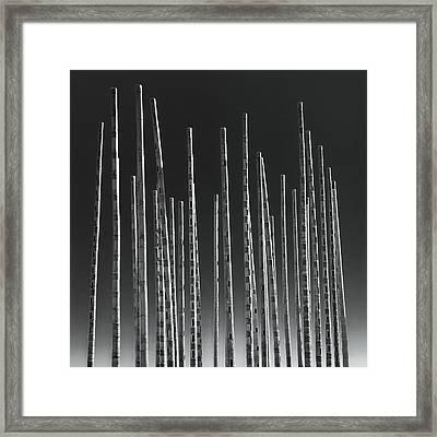 Wind Organ Framed Print by Wim Lanclus