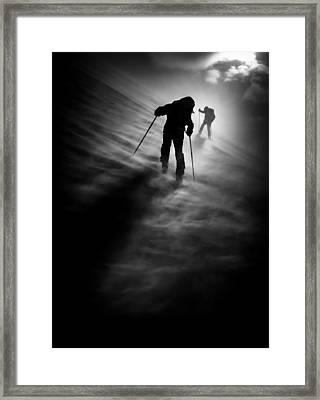 Wind Resistance Framed Print by Sandi Bertoncelj