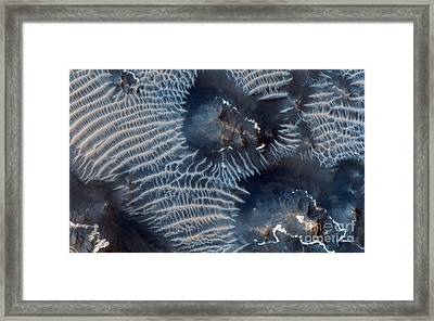 Windblown Sediments. Noctis Labyrinthus. Mars Framed Print by Celestial Images