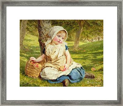 Windfalls Framed Print by Sophie Anderson