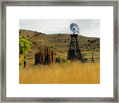 Windmill 2 Framed Print by Marty Koch