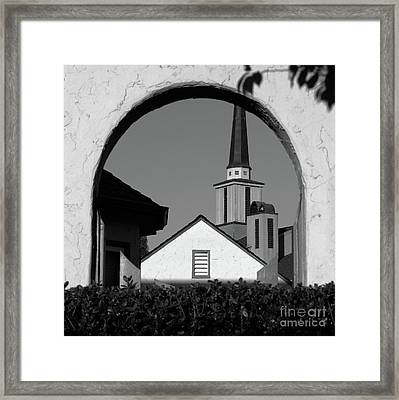 Window Arch Framed Print by CML Brown