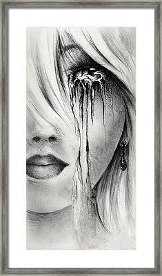Window Of The Soul Framed Print by Rachel Christine Nowicki