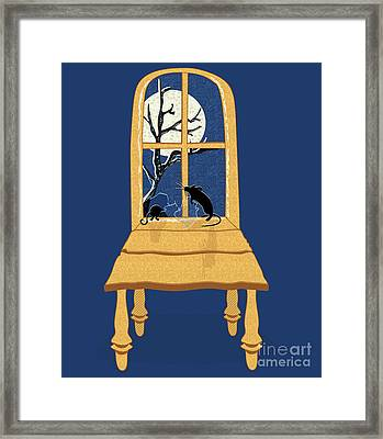 Window Seat Framed Print by Laura Brightwood