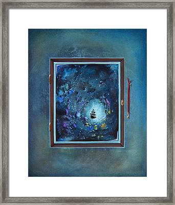 Window To Genesis Framed Print by Cindy Thornton
