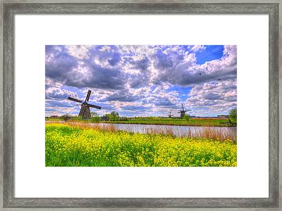 Window To Spring Framed Print by Midori Chan