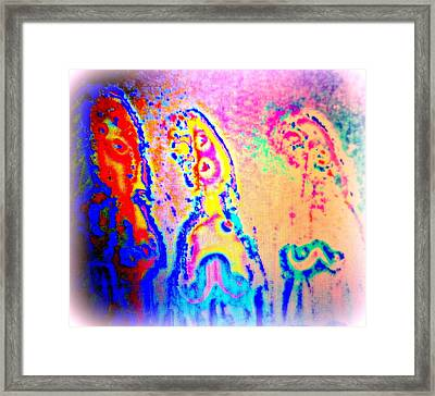 Open The Window To The Past Generations If You Can  Framed Print by Hilde Widerberg