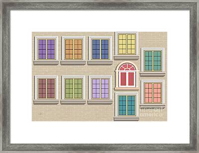 Windows 11 Framed Print by Bedros Awak