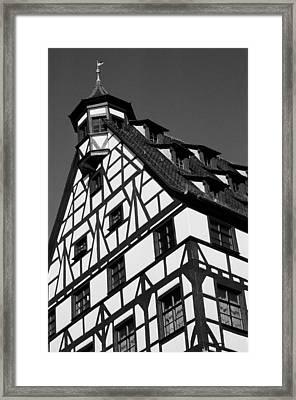 Windows ... Framed Print by Juergen Weiss