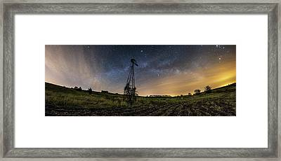 Winds Of Time Framed Print by Aaron J Groen
