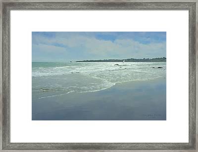 Windsurfer Little Compton, Ri Framed Print by Bill McEntee