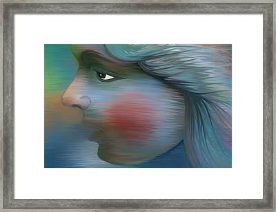Windswept Framed Print by Holly Ethan