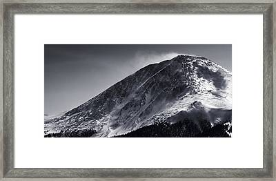 Windswept Framed Print by Ryan Heffron