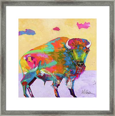 Windswept Framed Print by Tracy Miller